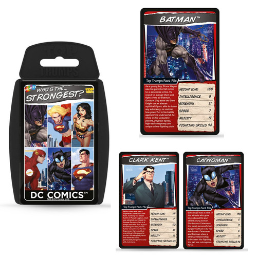 DC Comics Superheroes Top Trumps Card Game TT001923