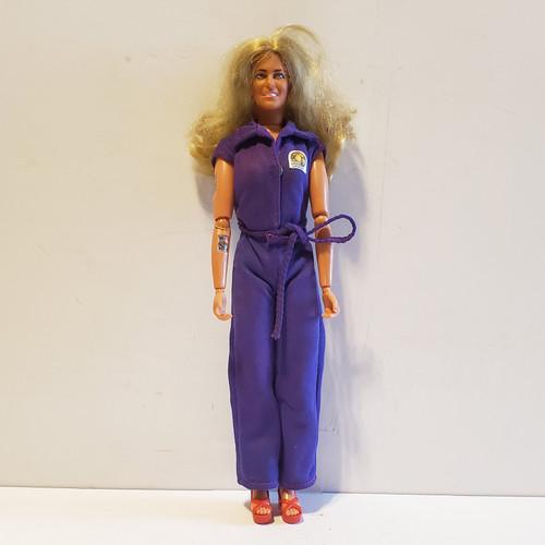 Vintage 1976 Kenner Bionic Woman Jamie Sommers Lindsay Wagner Action Figure Doll #65800