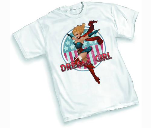 Graphitti Designs Supergirl 'Bombshell' Nose Art Pin-Up XL T-Shirt