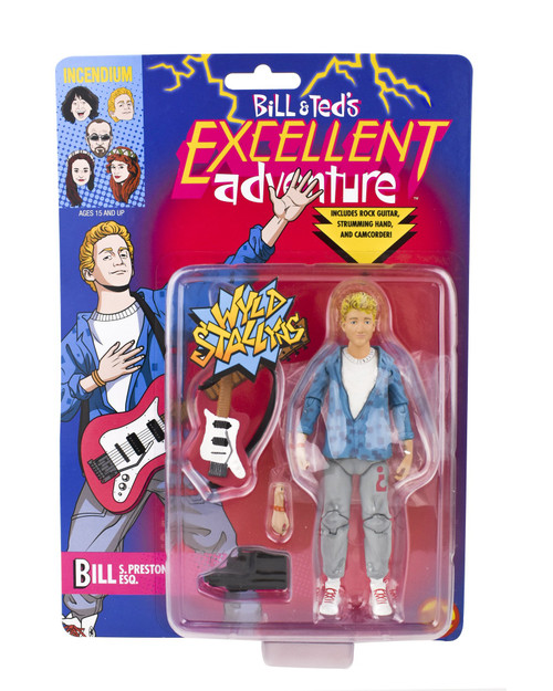 Incendium FigBiz Bill & Ted's Excellent Adventure Bill S. Preston Esq. Action Figure BTC0001