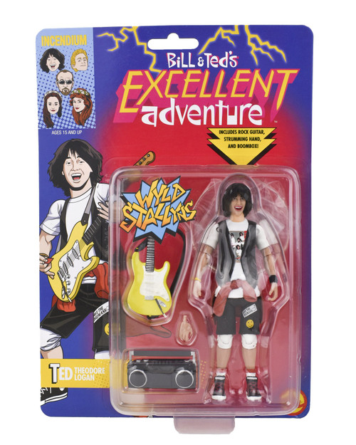 Incendium FigBiz Bill & Ted's Excellent Adventure Ted Theodore Logan Action Figure BTC0002