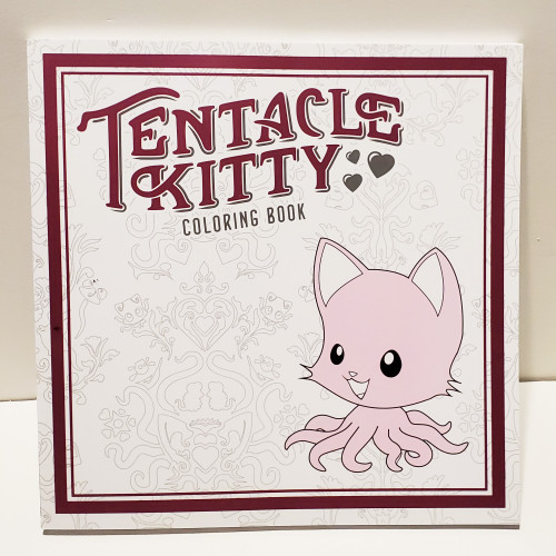 Tentacle Kitty TPB Adult Coloring Book by Dark Horse Comics 3001-465