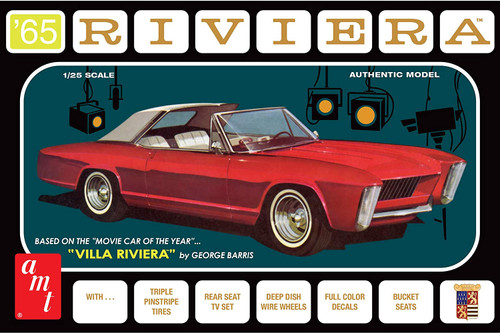 AMT George Barris Villa Riviera 1/25 Scale Buick Riviera Custom Model Kit #1121