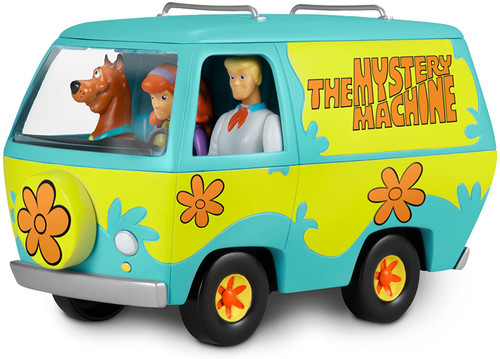 Revell Scooby-Doo Mystery Machine Van Build & Play SnapTite 1:20 Scale Model Kit 85-1771