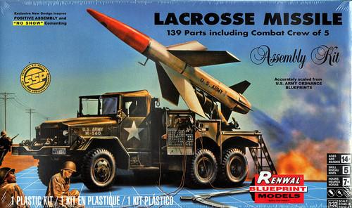 Revell Renwal Blueprint Models LaCrosse Missile System 1/32 Model Kit 85-7824
