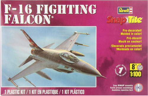 Revell SnapTite F-16 Fighting Falcon 1/100 Scale Plastic Model Kit 85-1368
