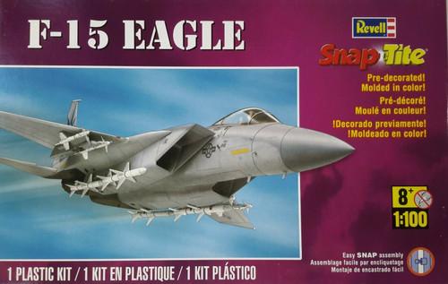 Revell SnapTite F-15 Eagle 1/100 Scale Plastic Model Kit 85-1367
