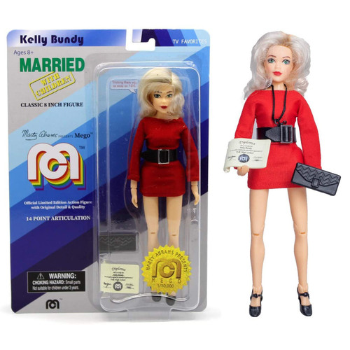 "Marty Abrams Presents MEGO Kelly Bundy Married with Children Classic 8"" Ltd. Ed. Figure 62737"