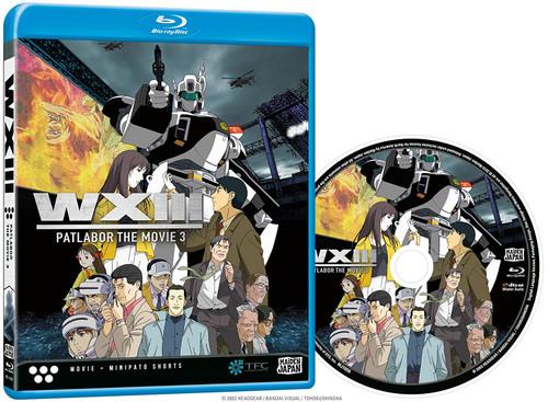 Patlabor WXIII The Movie 3 Anime Blu-Ray MJ-1956