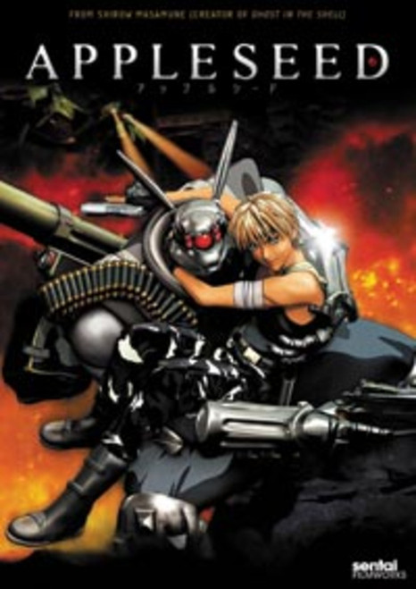 Appleseed Anime DVD Masamune Shirow Sci-Fi Classic
