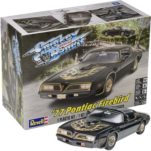 Revell 1977 Pontiac Firebird Smokey & The Bandit 1:25 Scale Plastic Model Kit 85-4027