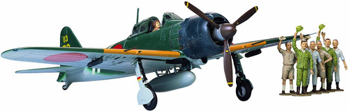 Tamiya Mitsubishi A6M5c Zero Fighter (Zeke) 1/48 Scale Plastic Model Kit No.27 61027