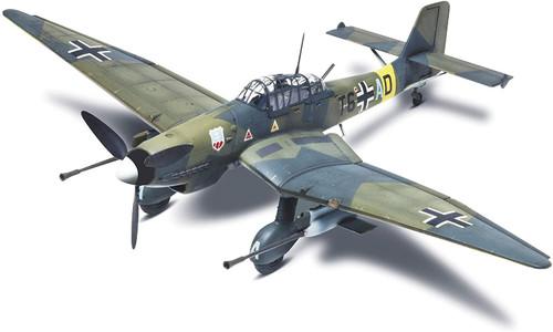 Revell Stuka Ju 87G-1 Tank Buster 1/48 Scale WWII German Bomber Plastic Model Kit 85-5270