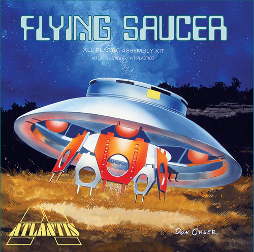 Atlantis Models The Invaders Flying Saucer 1/72 Plastic Model Kit A256