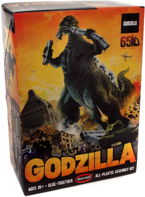 "Polar Lights Godzilla 1/144 Scale 16"" Tall Plastic Model Kit POL956"