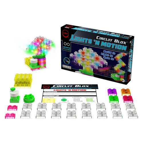 E-Blox Circuit Blox Lights 'n Motion STEM.ORG Building Bricks Set CB0286