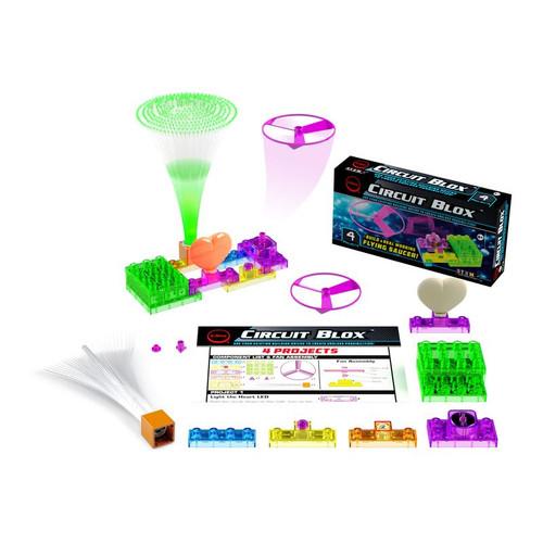E-Blox Circuit Blox Mini 4 Project STEM.ORG Building Bricks Set CB0156