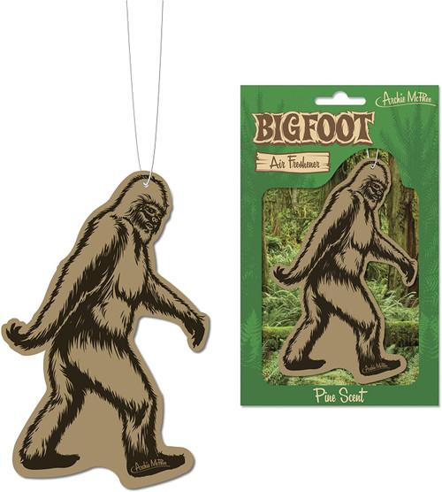 Bigfoot Deluxe Air Freshener - Pine Scent 12303