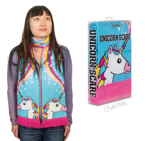 Unicorn Scarf Archie McPhee Accoutrements 12802