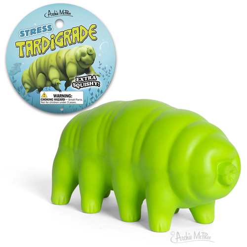 Tardigrade Squishy Stress Toy Archie McPhee 12846