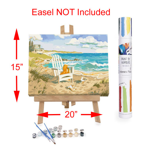 Winnie's Picks Adult Paint By Numbers Acrylic Set Waiting for You WP31