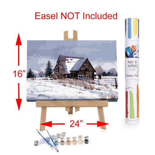 Winnie's Picks Adult Paint By Numbers Acrylic Set Cache Valley Barn WP94