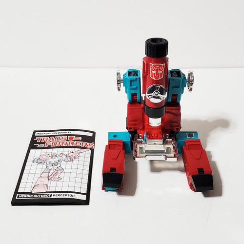 Vintage 1985 Transformers G1 Perceptor Autobot Hasbro Takara #5786