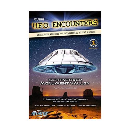 UFO Encounters Monument Valley Plastic Model Kit Atlantis Models #1007