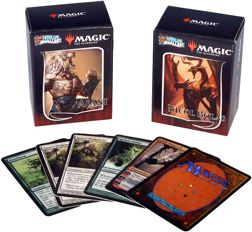 Worlds Smallest Magic The Gathering Duel Deck Series 2 Ajani vs Nicol Bolas Super Impulse #581