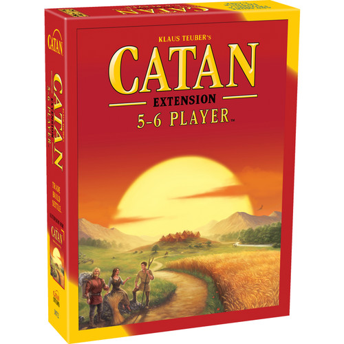 Klaus Teuber's Catan: Trade, Build, Settle (5-6 Player Extension) CN3072 Asmodee