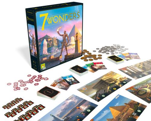 Repos Production 7 Wonders Board Game (New Edition) Asmodee SV01EN