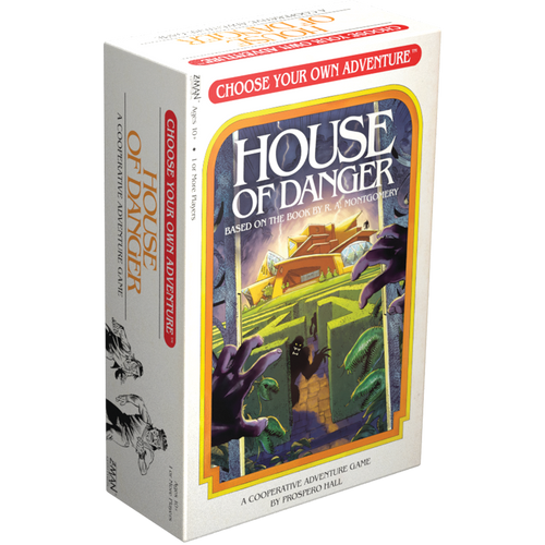Z-Man Games Choose Your Own Adventure: House of Danger Card Game Asmodee CYA01