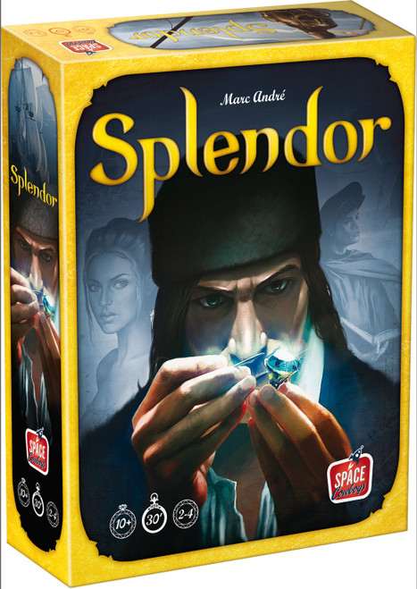 Splendor Game by Space Cowboys Asmodee SPL01