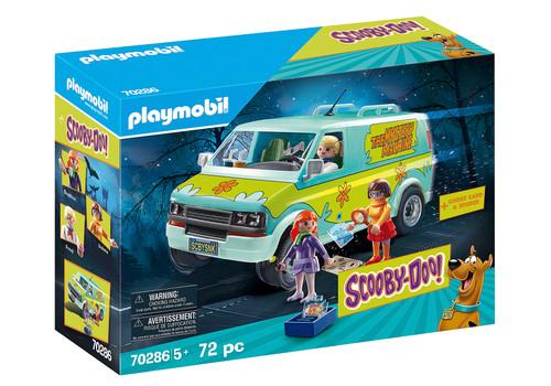Playmobil Scooby Doo Mystery Machine Van Playset w/ Lights 70286