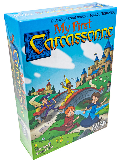 My First Carcassonne Board Game by Z-Man Games Asmodee ZM7860