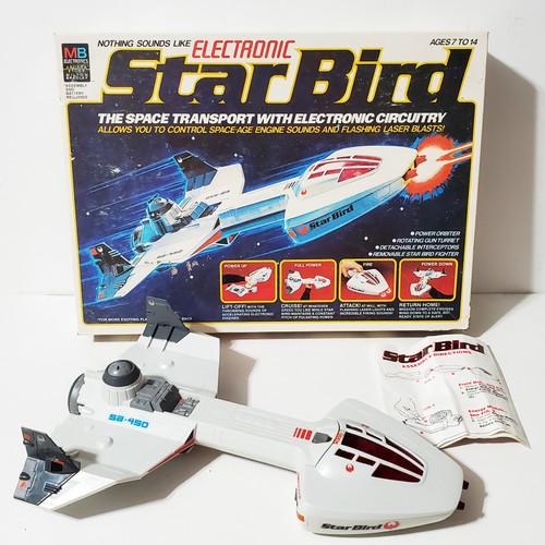 Vintage 1978 Electronic Star Bird w/ Box and Working Sound & Lights Milton Bradley #4852