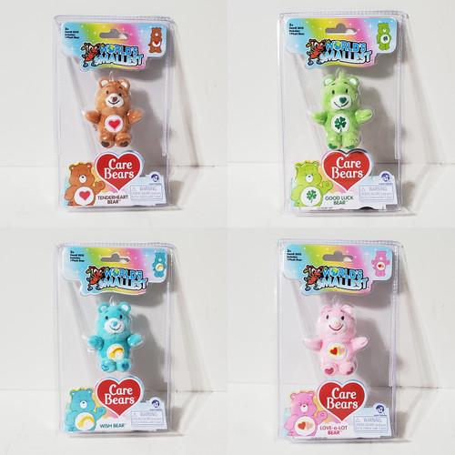 Worlds Smallest Care Bears Plush Toy Super Impulse 5012