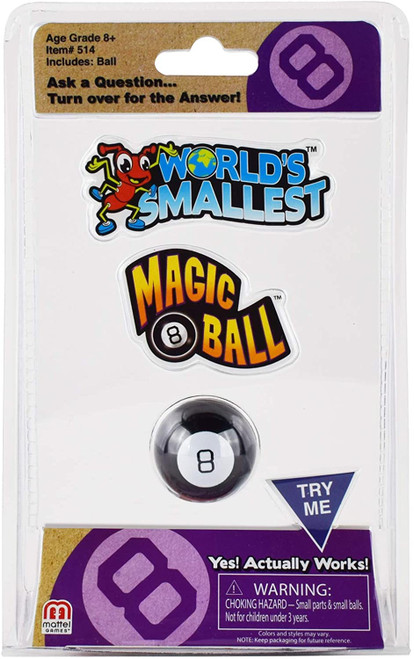 World's Smallest Magic 8 Ball Toy by Super Impulse 514