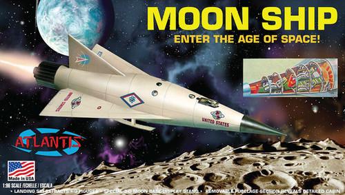 Moon Ship 1/96 Plastic Model Kit Atlantis Models #1825