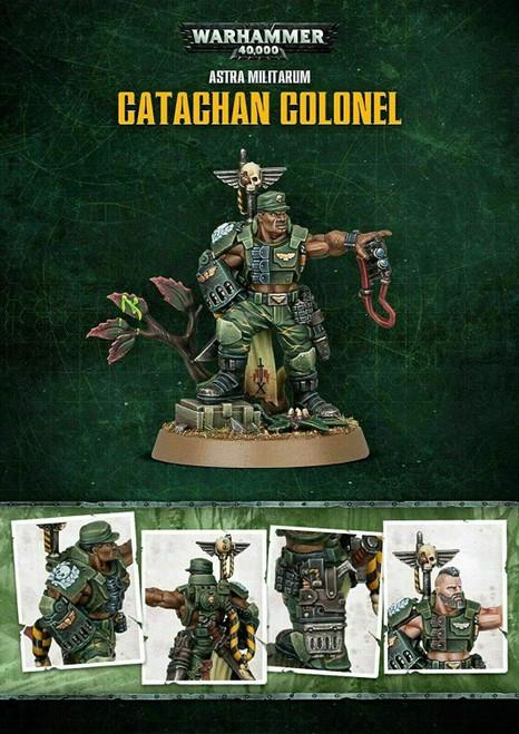 Warhammer 40K Astra Militarum Catachan Colonel Store Anniversary Miniature Games Workshop 47-90