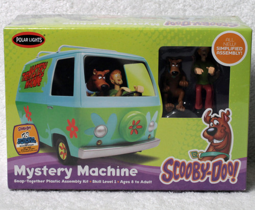 Polar Lights SnapIt POL911 Scooby-Doo Mystery Machine 1:25 Model Kit