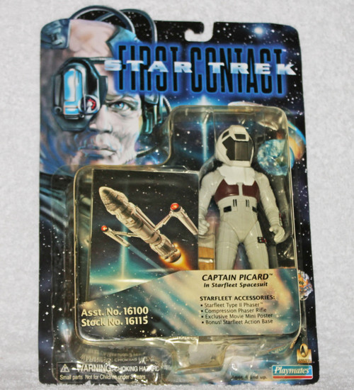 Playmates #16115 Star Trek First Contact Captain Picard (Starfleet Spacesuit) Action Figure