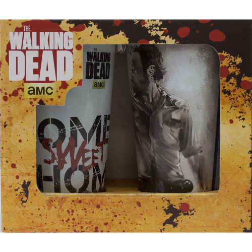 Just Funky Walking Dead Pint Glass 2-Pack (WD-GS2-2123)