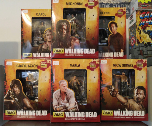 Eaglemoss The Walking Dead Figures AMC TV Version