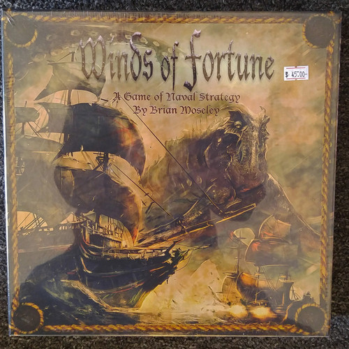 Safehaven Games Winds of Fortune Naval Strategy Board Game (SHGWF01)