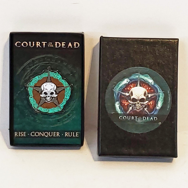Sideshow Court of the Dead Limited Edition Underworld United Signet Cloisonne Pin 500336