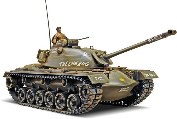 "Monogram M48A2 Patton Tank ""The Love Bug"" Plastic Model Kit 1/35 Scale 85-7853"