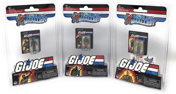 World's Smallest GI Joe Micro Action Figures Super Impulse 594