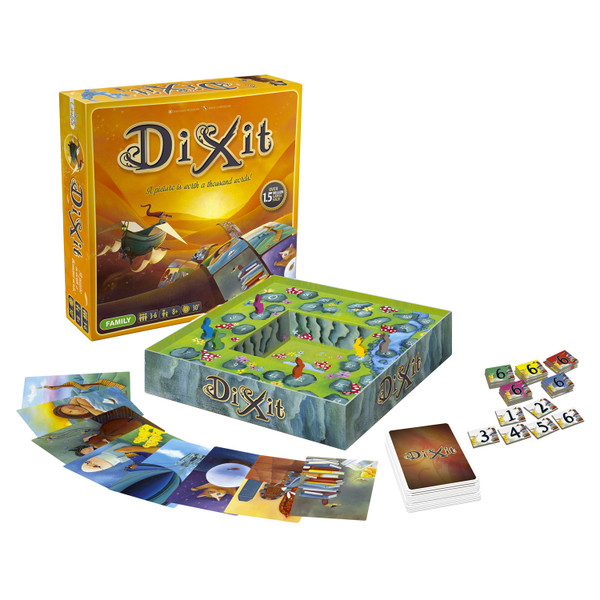 Libellud Games Dixit Family Board Game DIX01