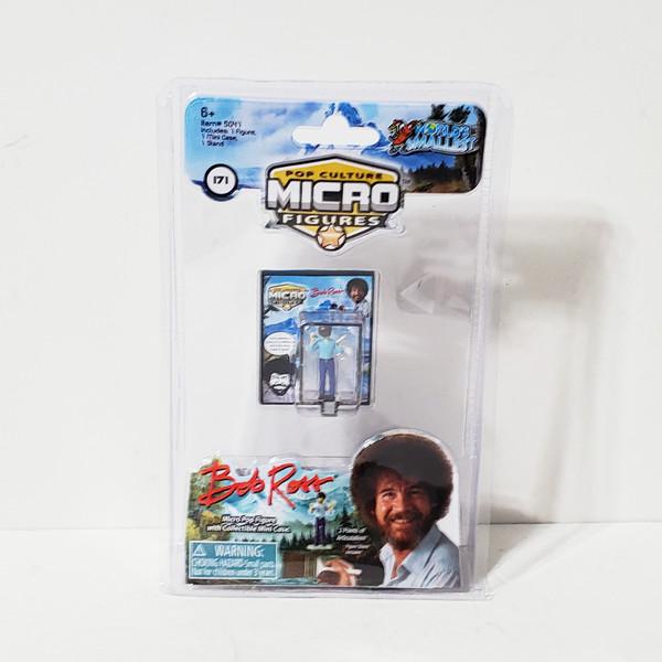 World's Smallest Bob Ross Micro Action Figure by Super Impulse 5041